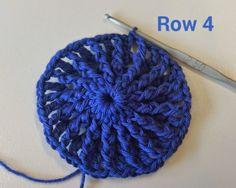 Rusia Niñas Casquete de Patrones La Espiral Uno Paso a Paso   Patrones Crochet, Manualidades y Reciclado