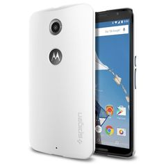 Nexus 6 Case, Spigen [Perfect-Fit] [Thin Fit] - Shimmery White (SGP11233): Amazon.co.uk: Electronics