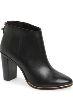 "Ted Baker London 'Lorca 3' Leather Bootie (Women) available at <a class=""pintag"" href=""/explore/Nordstrom/"" title=""#Nordstrom explore Pinterest"">#Nordstrom</a>"