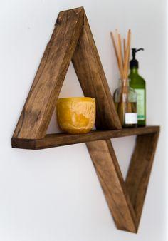 Triangle Shelf - DIY Plans