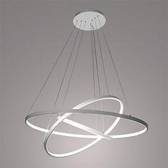 90W Lámparas Colgantes , Moderno / Contemporáneo Pintura Característica for LED MetalSala de estar / Comedor / Habitación de – EUR € 196.19