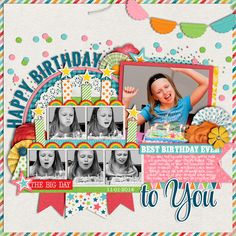 Used the following from the Sweet Shoppe: Cindy's Layered Templates - Single 44 : Birthday Memories 2 by Cindy Schneider  A Very Happy Bi...