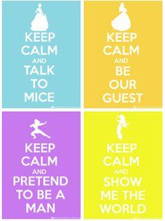 Keep Calm Disney 2