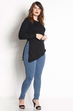 Cute Outfits For Plus Size Women. Graceful Plus Size Fashion Outfit Dresses for Everyday Ideas And Inspiration. Plus Size Refashion. Chubby Fashion, Curvy Girl Fashion, Looks Plus Size, Look Plus, Plus Size Fashion For Women, Plus Size Women, Curvy Girl Outfits, Plus Size Kleidung, Business Casual Outfits