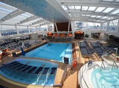 Anthem of the Seas: What to Expect from Royal Caribbean's newest addition. Sister ship to Quantum of the Seas- Condé Nast Traveler