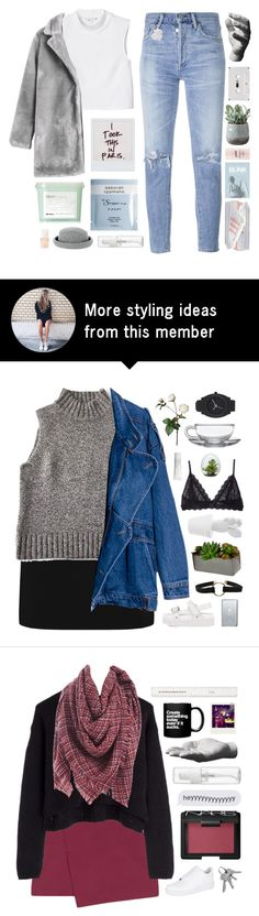 """you're my all and more"" by scattered-parts on Polyvore featuring Citizens of Humanity, Monki, Davines, Deborah Lippmann, Warehouse, Christian Dior, McCoy Design, adidas Originals, philosophy and Torre & Tagus"