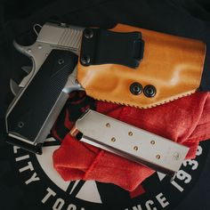 Hawk II Red Line Edition holsters for by Goshawk Holsters. Tactical Knives, Tactical Gear, Leather Holster, Kydex, Holsters, Arsenal, Evolution, Guns, Red