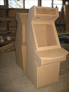 All CNC machined arcade cabinet kit: