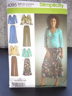 UNCUT Simplicity 4095 Loose Fitting Blouse by TheVintageBarnOwl, $4.00