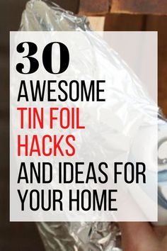 Easy and simple life hack ideas that every girl should know using tin foil. These useful hacks using an every day item make organization and cleaning easy and simple. #hometalk Bathroom Cleaning Hacks, Cleaning Tips, Easy Tile, Copper Spray Paint, Mason Jar Lighting, Jar Lights, Simple Life Hacks, Life Savers, Hacks Diy