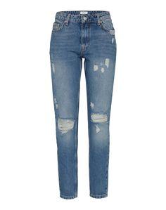 Die Denim von Pepe Jeans  aboutyoude überzeugt mit Low Waist und lässigen  Used-Elementen 509cd87a44