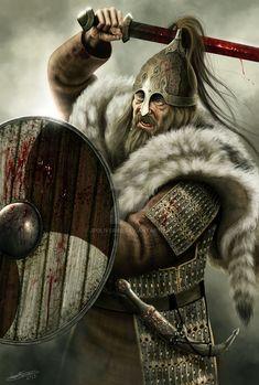 The Rus Swedish Vikings who settled in Slavic lands..JFoliveras Deviantart