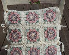 Maxi skirt boho crochet made to order granny squares