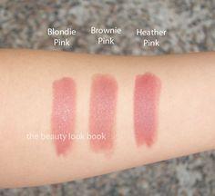 bobbi brown Bobbi Brown Blondie Pink, Brownie Pink Heather Pink Lipsticks