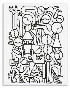 Jonathan Calugi, un ilustrador minimalistas | Singular Graphic Design