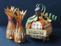 Joy's Life Creative Team: Decorating for Thanksgiving? Thanksgiving Decorations, Holiday Decor, Candy Art, Bountiful Harvest, Life Design, Little Gifts, Mini Albums, Presents, Paper Crafts