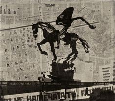 William Kentridge | Nose on a horse projection, 2010 | Photogravure | Image size: 6 3/4 x 7 5/8 inches, Paper size: 12 3/4 x 13 5/8 inches | Edition of 30 | Collaborator: Randy Hemminghaus | Published by Brodsky Center at Rutgers University