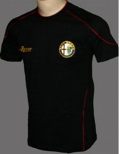 ALFA ROMEO Mens Polo Shirt Classic Alfa Logo Ideal gift for an Alfaholic