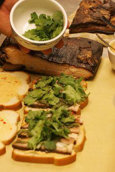 pork belly tea sandwiches