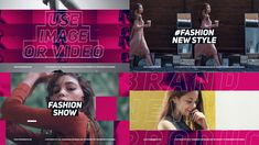 Buy Fashion Show by efline on VideoHive. Template Features: No plugins required 16 Video or Photo Holders 8 Text holders Color control Full HD Durat. Image New, Memphis Pattern, Motivational Videos, Fashion Story, All Video, Minimal Fashion, Motion Design, Teaser, Glamour