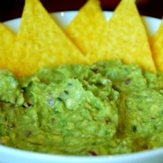 Stop looking for guacamole recipes - this is THE one (2 ripe Avocados, peeled and pitted juice of 1 Lime 1/4 Cup minced Red Onion 2 Tablespoons minced Cilantro 1 small clove Garlic, minced 1 teaspoon Kosher Salt or 1/2 teaspoon Table Salt 1/2 teaspoon Pepper 1 Tablespoon minced Jalapeño)