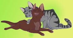 Brother and Sister by Graystripe64.deviantart.com on @deviantART