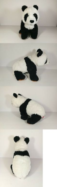 e21093e7a75 Retired 1636  2009 Ty Classic Plush Beckett Borders Exclusive Panda Bear  Large Beanie Baby -