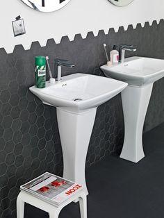 The.Artceram Blues bathroom collection, design Meneghello Paolelli Associati #washbasin #ceramics #design #madeinitaly #bagno