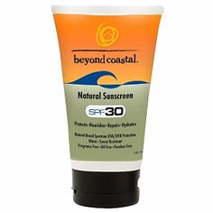 I'm learning all about Beyond Coastal Natural Sunscreen at @Influenster!