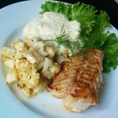 Smörstekt torskrygg, blomkålshack och Remouladsås | Tjockkocken