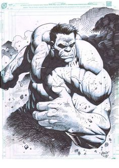 The Hulk by Lan Medina *