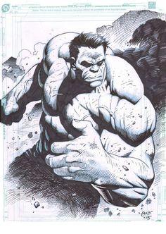 The Hulk by Lan Medina *