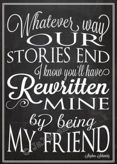 "Wicked Quote - You Have Rewritten Mine ""For Good"" INSTANT DOWNLOAD Printable Farewell Graduation Moving Friendship Friend Gift Wall Art 5x7"