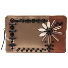 LANVIN embroidered small clutch ($1,990)