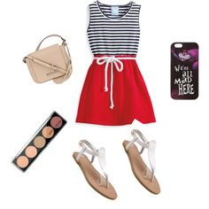 Beaches by penguins-lily on Polyvore featuring polyvore moda style Kenneth Cole Disney