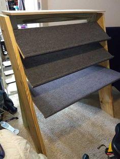 Home Studio Setup, Studio Build, Studio Desk, Recording Studio Furniture, Recording Studio Home, Diy Rack, Indoor Outdoor Carpet, Gear Rack, Shelving