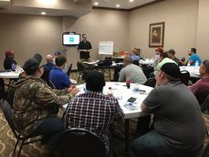 Devin is leading another great class for AudioChecks with new hires from BJ Services/Baker Hughes.  Chelsea and myself ( Ginger ) got to work alongside him this time around. - http://ift.tt/1HQJd81