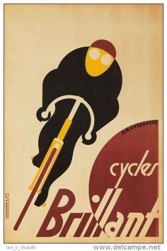 Postcard - poster reproduction - Cycles Brillant 1903 (0226)