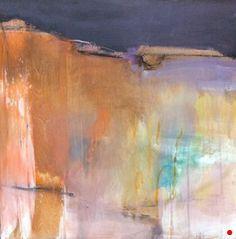 Illumination- Abstract by Joan Fullerton, Acrylic, 24 x 24 x .75 Abstract Landscape Painting, Abstract Paintings, Art Paintings, Contemporary Abstract Art, Contemporary Landscape, Contemporary Artists, Landscape Artwork, Art Abstrait, Creative Art