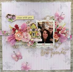 CHAOS ON A PAGE: FUL-MTW-Time with you - Our Day - Best Friends!