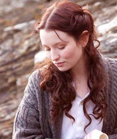 Emily Browning as Florence Carter-Wood in Summer in February {2013}.