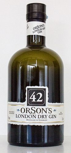 42 Orson's London Dry Gin