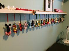 Disney Shoe Ornaments
