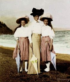 Vintage Photography: The Romanovs.  Not known if this is an autochrome