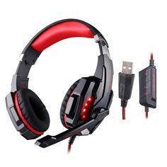EACH G9000 Headset Gamer Gaming Headphones USB 7.1 Surround Sound Vibration with MIC/Microphone Headphones Luminous for PC Gamer //Price: $US $25.55 & FREE Shipping //     #apple