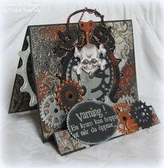 Steampunk card - Scrapbook.com