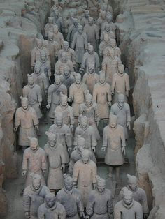 Still Marching, the Famed Terracotta Warriors - Lintong, Shaanxi, China