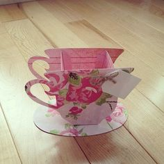 10 Rose Tea Cup Favors by ThePaperCard on Etsy, $10.00