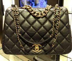 Chanel Shiva Large Flap Bag Pre Fall 2012