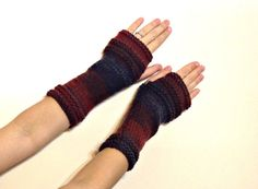 Hey, I found this really awesome Etsy listing at https://www.etsy.com/listing/216351191/long-fingerless-gloves-striped-soft-knit
